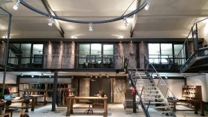 Innovationszentrum und Showroom Firma Textil Maibom Dingden