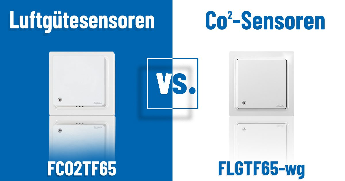 Luftgütesensoren vs. CO2 -Sensoren